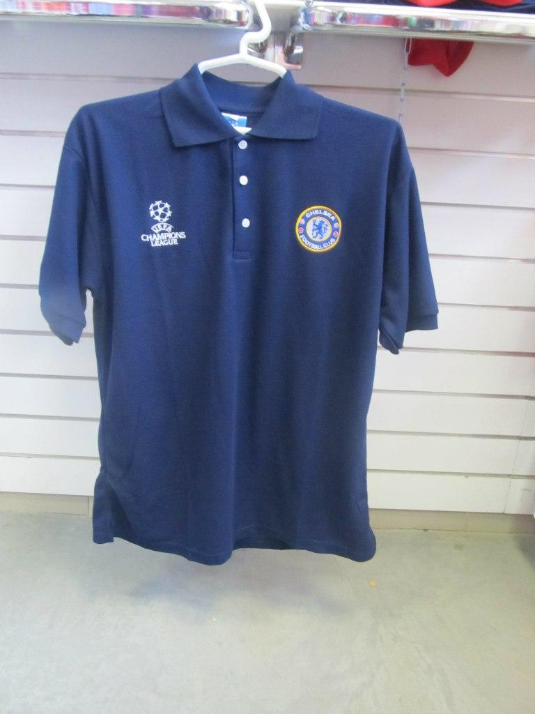 ... Поло футбольного клуба Челси, синее. Форма, одежда и другая спортивная  экипировка в магазинах 909b747710a
